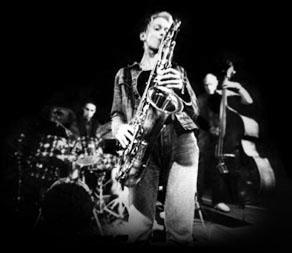 Saxophonistin Corinna Danzer